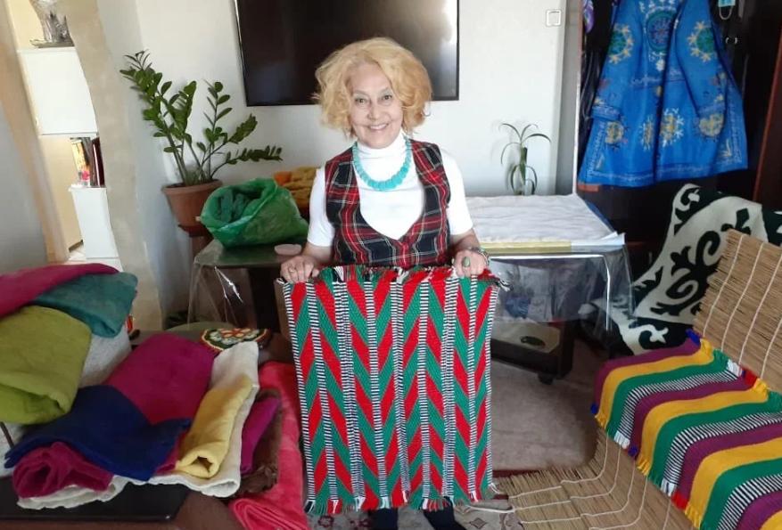 Замысловатые узоры жизни Айман Бокпасаровой