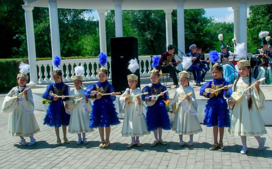 Струны души казахского народа