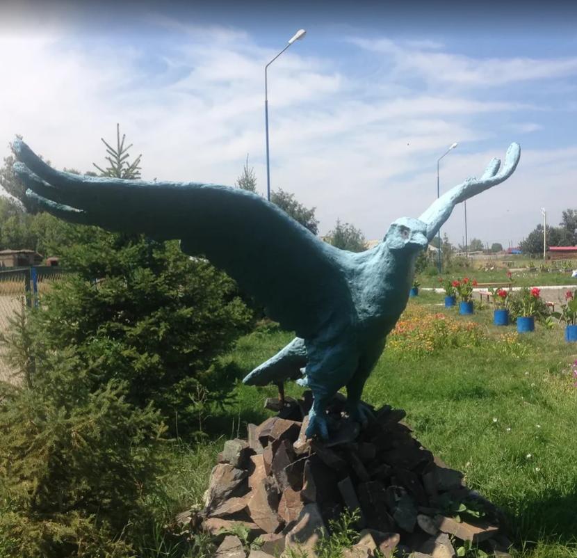 Скульптуры Маулена Смагулова