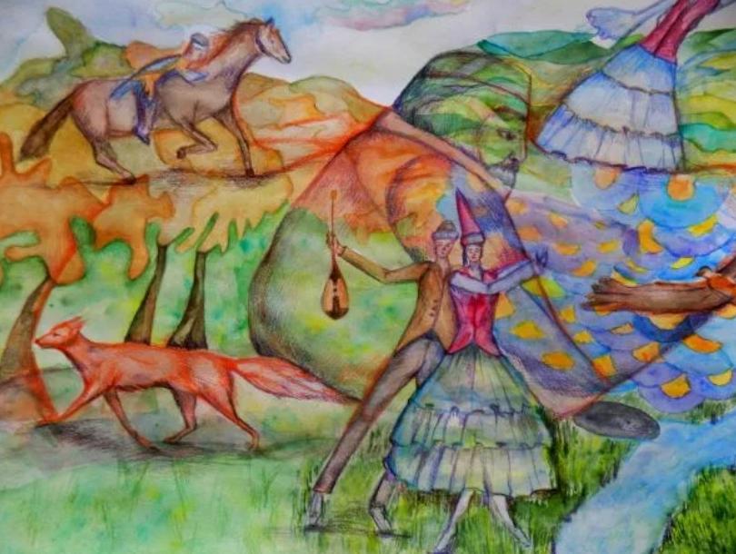 Мир Абая в красках